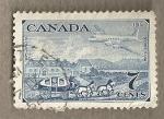 Stamps America - Canada -  Medios de transporte