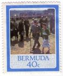 Stamps America - Bermuda -  60 bBirthday