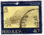 Stamps America - Bermuda -  Halley´s Comet