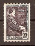 Sellos de Europa - Rumania -  GEORGE   ENESCU