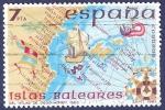 Stamps Spain -  Edifil 2622 Islas Baleares 7
