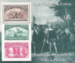 Stamps of the world : Spain :  colon y el descubrimiento.