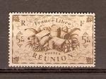 Sellos de Europa - Francia -  REUNI�N   PRODUCE