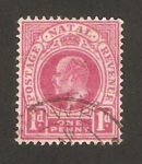 Stamps South Africa -  natal - edouard VII