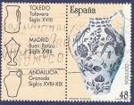 Sellos de Europa - España -  Edifil 2896 Cerámica española 48