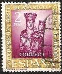 Sellos del Mundo : Europa : España : EXPOSICION ARTE ROMANICO CONSEJO DE EUROPA