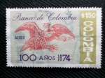 Stamps of the world : Colombia :  Banco de Colombia