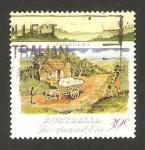 Stamps : Oceania : Australia :  desarrollo colonial, pioneros