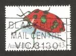Sellos de Oceania - Australia -  fauna, cotton harlequin bug