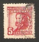 Stamps : America : Uruguay :  jose pedro varela