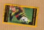 Stamps : Europe : Germany :  Borussia de Dortmund (Campeón de Liga 1995)