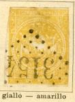 Stamps America - Ecuador -  Escudo año 1865