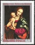 Stamps Europe - Hungary -  GIAMPIETRINO: MARIA A KIS JEZUSSAL