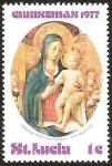 Sellos del Mundo : Europa : Italia : CHRISTMAS - ST. LUCIA