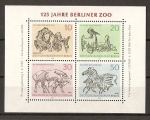 Sellos de Europa - Alemania -  125 Aniversario del Zoo de Berlin