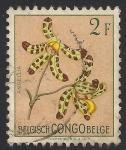 Sellos de Europa - Bélgica -  Flores 1952: Ansellia