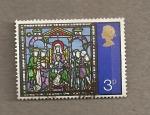 Stamps United Kingdom -  Adoración reyes Magos