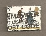 Stamps United Kingdom -  Bicicletas británicas