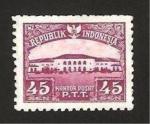 Stamps : Asia : Indonesia :  central de correos en bandoeng
