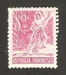 Stamps : Asia : Indonesia :  serie ordinaria