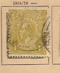 Stamps Oceania - Australia -  Efigie Rey