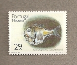 Sellos de Europa - Portugal -  Madeira, pez abisal