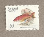 Sellos de Europa - Portugal -  Madeira, Pez Cao