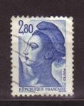 Sellos de Europa - Francia -  Libertad de Gandon