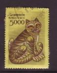 Stamps Asia - South Korea -  año del tigre