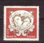 Stamps Brazil -  Navidad