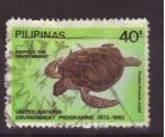 Sellos de Asia - Filipinas -  protección del medio ambiente