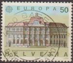 Sellos de Europa - Suiza -  Suiza 1990 Scott 861 Sello Europa Oficinas Postales Michel1415 Switzerland Suisse