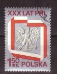 Sellos de Europa - Polonia -  30 aniv.