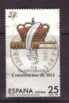 Stamps Spain -  Aniversario de la Constitución