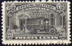 Sellos de America - Estados Unidos -  USA 1922-5 Scott E14 Sello Furgoneta y Oficina Postal Post Office Truck Special Delivery Usado Dent.