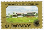Sellos del Mundo : America : Barbados : Commonwealth Day 14 March 1983