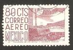 Sellos de America - México -  estadio universitario en México DF