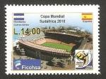 Sellos de America - Honduras -  mundial de fútbol Sudáfrica 2010, España