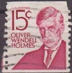Stamps United States -  USA 1968 Michel 944 Sello Serie Personajes Oliver Wendell Holmes usado Estados Unidos Etats Unis