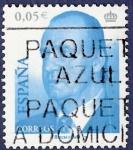 Stamps Spain -  Edifil 3858 Serie básica 4 Juan Carlos I 0,05