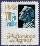 Stamps Spain -  VIII centenario de Sto. Domingo de Guzmán (no postal)