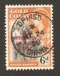 Stamps : Africa : Ghana :  independencia de Ghana 6 marzo 1957