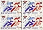 Stamps Spain -  paralimpiada madrid 92