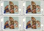 Stamps Spain -  NAVIDAD 92