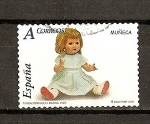 Stamps Spain -  Juguetes / Muñeca Mariquita Perez
