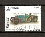 Sellos de Europa - España -  Juguetes / Coche Bugatti.