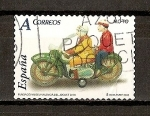 Stamps Spain -  Juguetes / Moto Rico