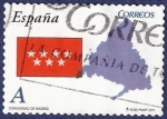 Stamps of the world : Spain :  Edifil 4616 Comunidad de Madrid A