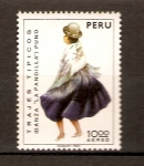 Stamps Peru -  DANZA  LA  PANDILLA