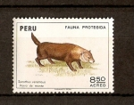 Stamps America - Peru -  PERRO   DE   MONTE